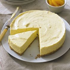 Marmalade is not just for spreading on toast. In this feather light cheesecake the sharp tang of Seville oranges shines through. If you have your own home made marmalade than even better.