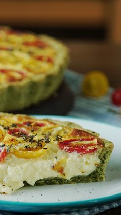 No es cualquier Tarta, prueba esta masa de Albahaca y sabrás por qué Quiche Recipes, Appetizer Recipes, Appetizers For Party, Cooking Recipes For Dinner, Zucchini Puffer, Vegetarian Recipes, Healthy Recipes, Food Videos, Breakfast Recipes