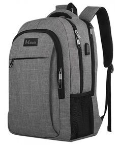 889d44821c Backpack Business Charging Resistant Computer - Grey - CL17YAUA8HC