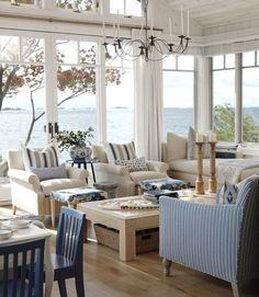 Estilo los Hamptons, Casas de estilo Hamptons, Decorar una casa como en los Hamptons, accesorios de decoración estilo los Hamptons