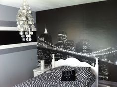 Deco chambre ado new york