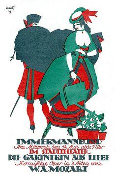 Adolf Uzarski, Immermannbund (Stadttheater Duesseldorf), 1919