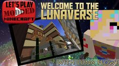 Let's Play Modded Minecraft! Hey you fantastic people! I've some cool news: I've transferred my Lunaverse world onto a server so my friends can share and enj. Minecraft Mods, Hey You, Lets Play, Welcome, Let It Be, Amazing, Fun, House, Home