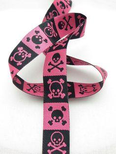 Dødningehoved - Pink