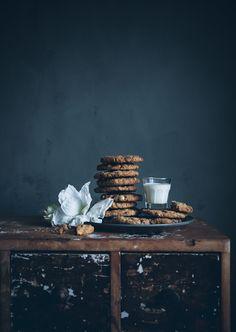 DIY -Edible gifts in jars Oatmeal cookies
