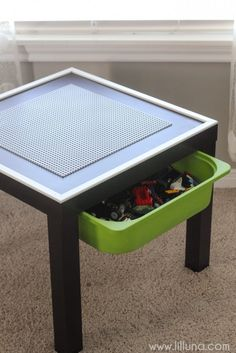 DIY Lego Table                                                                                                                                                     More