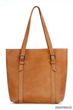 torby na ramię - damskie-Skórzana carmelowa duża torebka damska Tote Bag, Etsy, Bags, Fashion, Shoulder Bags, Handbags, Moda, Fashion Styles, Totes
