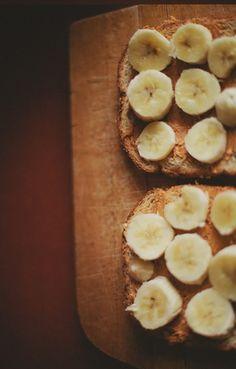 Banana Peanut Butter Toast