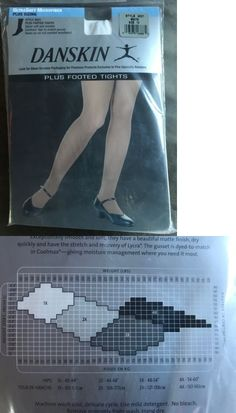 b3e54d19cd96d Leggings and Tights 152364: Plus Size Footed Tights White 1X -> BUY IT