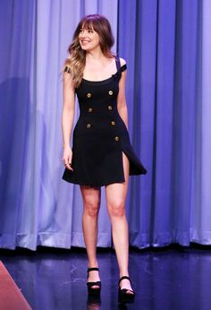 Dakota Johnson is promoting the final Fifty Shades of Grey film, and yesterday on The Tonight Show with Jimmy Fallon, she wore a simple—but pretty perfect—little black dress. Versace is one of the biggest talking points forS/S 18, thanks to its applauded tribute collection toGianni Versace, an...
