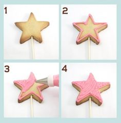 make a wish…fairy wand cookies | The Decorated Cookie