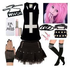 """""""I'm a bad Witch"""" by xcreepygirlx ❤ liked on Polyvore"""