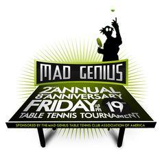 2013 Table Tennis tournament logo