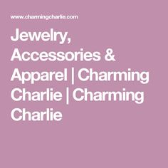 Jewelry, Accessories & Apparel | Charming Charlie | Charming Charlie