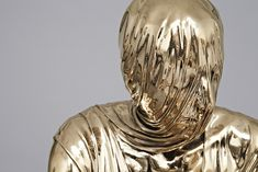 Temporal Sitter, 2012. High Polished Bronze, Bardigilio Marble. 89.9 x 89.9 x 169.9cm. Kevin Francis Gray. Picture 2 of 3.