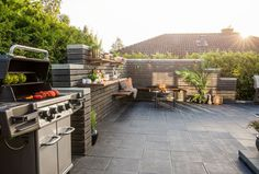 Byggeklosser for voksne - Byggmakker Outdoor Living, Outdoor Decor, Hygge, Cottage, Patio, Design, Home Decor, Ideas, Wall