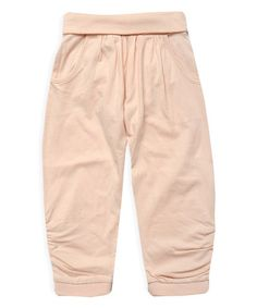 Another great find on #zulily! Powder Pink Harem Pants - Toddler & Girls by Pumpkin Patch #zulilyfinds