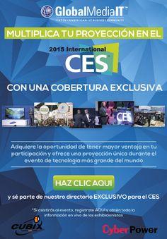 Síguenos en nuestra cobertura exclusíva del CES 2015
