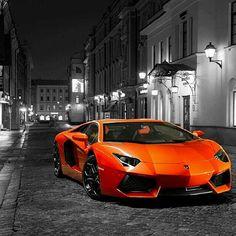 Lamborghini Aventador certainly 'standing out'