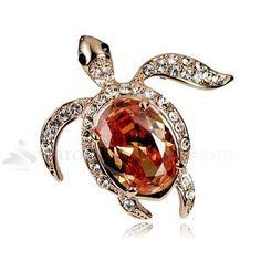 turtle broach