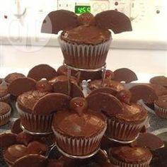 Cupcake de morcego @ allrecipes.com.br