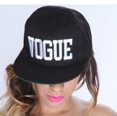 Win a Vogue #Snapback #Cap ^_^ http://www.pintalabios.info/en/fashion_giveaways/view/en/2345 #International #Accessories #bbloggers #Giweaway