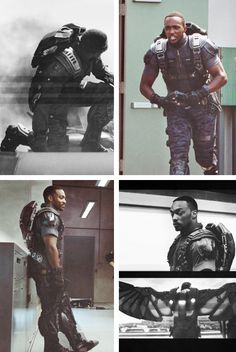 "Anthony Mackie/The Falcon, ""Captain America: The Winter Soldier"""