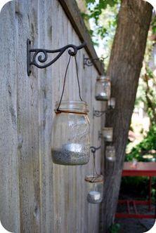 Romantic garden lighting for parties!