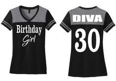 Birhday Girl Shirt, Ladies Birthday shirt, Womens Birthday Shirt, Adult birthday shirt, Ladies Birthday Girl, Ladies tshirt, Adult birthday by TMCreativeCreations on Etsy
