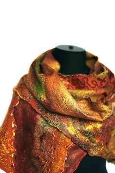 Farb-und Stilberatung mit www.farben-reich.com Nuno Felted Scarf