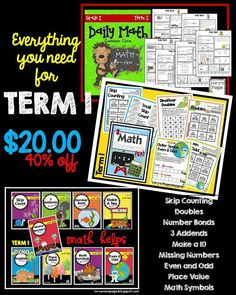 Math galore for term 1