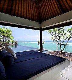 Cliff Front Bali Villa #travel stunning holiday rentals