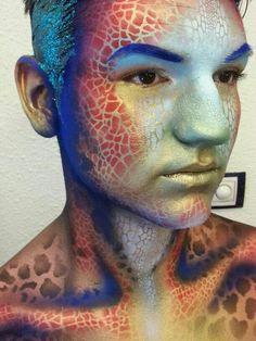 Graftobian bodypainting makeup
