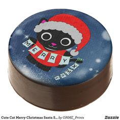 Cute Cat Merry Christmas Santa Sweet Chocolate Covered Oreo #Onmeprints #Zazzle #Zazzlemade #Zazzlestore #Zazzleshop #Zazzlestyle #Cute #Cat #Merry #Christmas #Santa #Sweet #Chocolate #Covered #Oreo Xmas Cookies, Oreo Cookies, Merry Christmas Santa, Christmas Goodies, Christmas Time, Chocolate Dipped Oreos, Oreo Pops, Cookie Icing, Confectionery