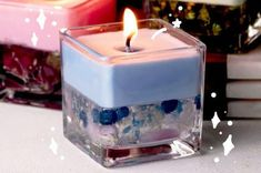 Save Your Money And Make These Cute Little DIY Aromatherapy Candles By Yourself Time to unleash your inner potions master! Cheap Candles, Soy Candles, Scented Candles, Perfume Diesel, Diy Aromatherapy Candles, Aromatherapy Oils, Essential Oil Candles, Essential Oils, Gift Boxes