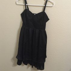 Black cocktail dress Worn 2 times. In excellent condition Go International Dresses Mini