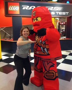 Macaroni moms showing off their ninja moves!#MacKid #legolanddiscoverycenter #ldcwestchester #legoland #ninjago