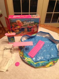 Barbie Wet and Wild Swim Pool. I still have this in my basement!