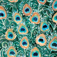 Peacock IPhone And IPad Wallpapers Watercolor Bohemian