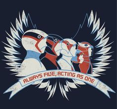 My hubby new shirt!  Battle of the Planets G-force
