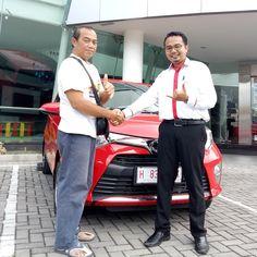 Terima kasih atas kepercayaan Keluarga Bapak Fredi yang telah melakukan pembelian 1 unit Toyota Calya melalui ToyotaSemarang.com Semoga berkah untuk keluarga…...