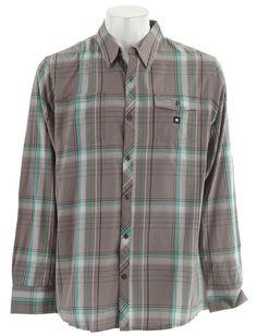 DC Durrand L/S Shirt Steeple Grey - Men's