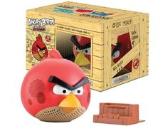 Caixa de Som Gear4 Pg542g Angry Birds Vol/bass 30wrms 2.1 Stereo Red Bird