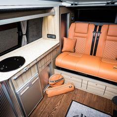 "Traditional ""Lux"" Conversions - New Wave Custom Conversions Vw T5 Interior, Campervan Interior, Land Rover Defender, Trailers, Vw Camper Conversions, Camper Van, Motorhome, Solar Power, Campers"