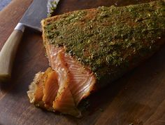 Salmon is such a delicious and healthy fish! Mexican-Style Gravlax with Cilantro and Tequila
