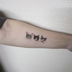 cat #cattattoo #tattoo #hongdam #고양이타투 #타투 #홍담