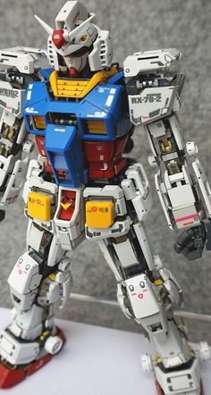 GUNDAM GUY: MG 1/100 RX-78-2 Gundam Ver. 3.0 'Open Hatch' - Customized Build
