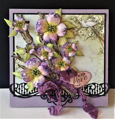 DJ's Creations: Lavender Dogwood