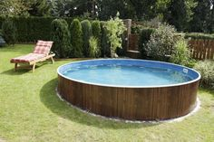 Having a pool sounds awesome especially if you are working with the best backyard pool landscaping ideas there is. How you design a proper backyard with a pool matters. Cheap Inground Pool, Cheap Pool, Intex Pool, Round Above Ground Pool, Above Ground Swimming Pools, In Ground Pools, Above Ground Pool Kits, Above Ground Pool Landscaping, Backyard Pool Landscaping