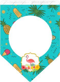 Uau! Veja o que temos para Bandeirinha Varalzinho 3 Flamingo Tropical Flamingo Party, Flamingo Decor, Flamingo Birthday, Aloha Party, Doodle Art Drawing, Flamingo Pattern, Bunting Flags, Tropical Party, Disney Cars